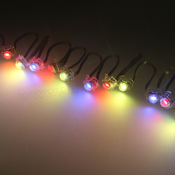 20mm ucs1903 5v full color round smd rgb ws2811 Led Pixel Light Strings