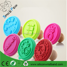 Replaceable Silicone Biscuit Mold Cake Stamp Mold Pastry Cookie Moulds Cake Decorating Tools