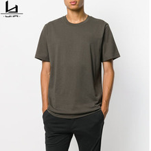 Commercio all'ingrosso <span class=keywords><strong>plain</strong></span> casual manica corta loose fit mens <span class=keywords><strong>t</strong></span>-<span class=keywords><strong>shirt</strong></span> 100% cotone