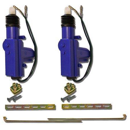 Heavy Duty Universal 12 Volt 360 Degree Power Motor Door Lock Actuator (2 PACK)