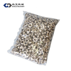 10mm self piercing single iron eyelet and grommet for semi-automatic eyelet machine