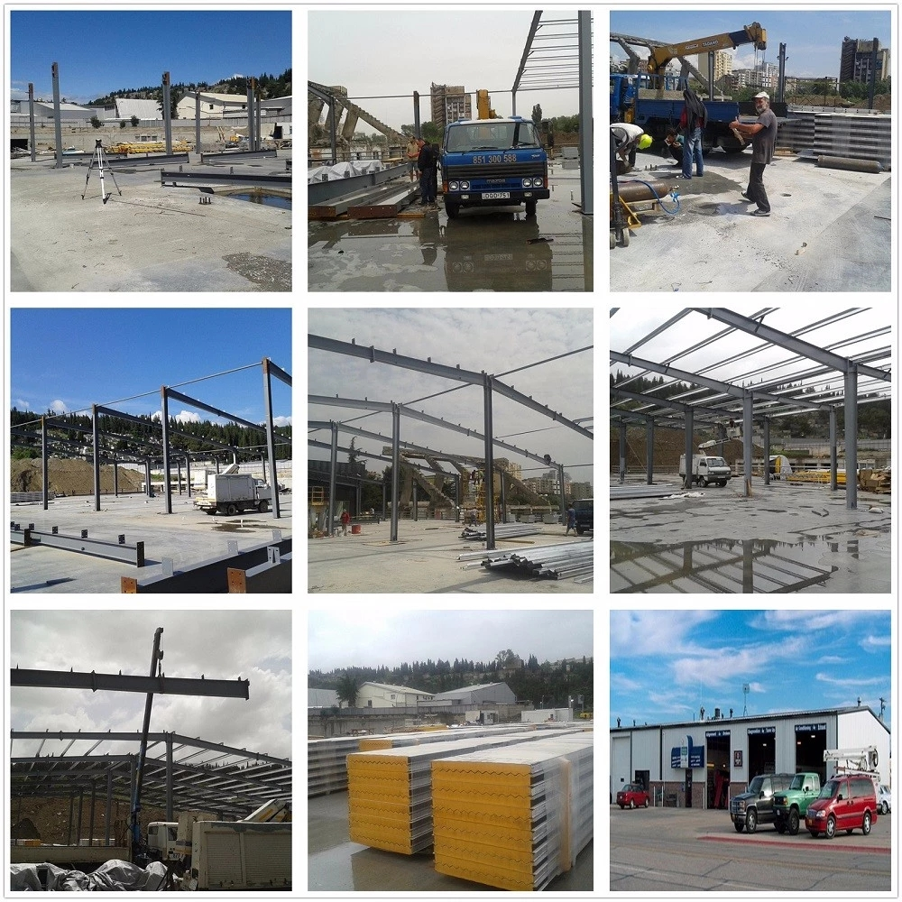 Qingdao Manufacturer Hot Sale Prefabricated Steel Structure Warehouse