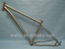 3AL/2.5V affordable made in China titanio bicicleta marco