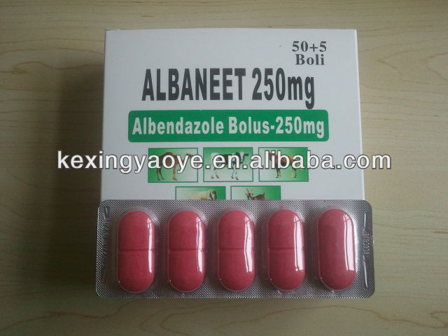 albendazole 250mg tablet