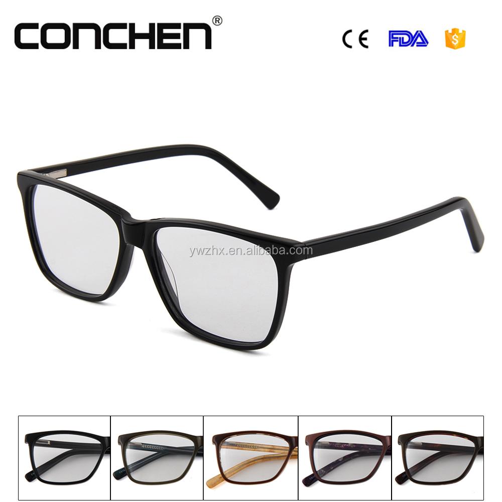 Últimas diseño chicas top lentes de prescripción de gafas de acetato ...