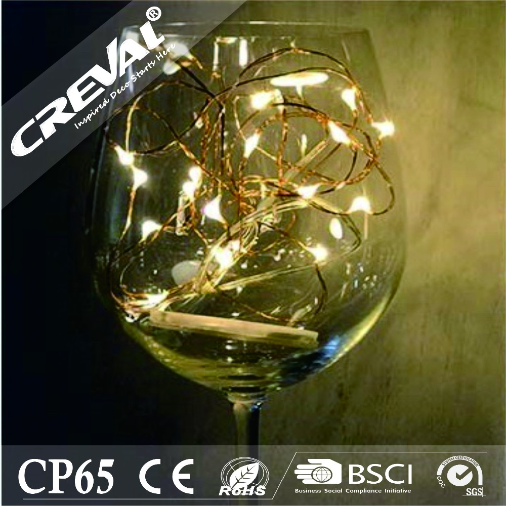 Shop China Electronics Online Copper Wire Battery LED Party for Glass Decoration