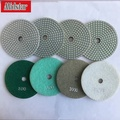 4 inch diamond and resin bond flexible floor polishing pad
