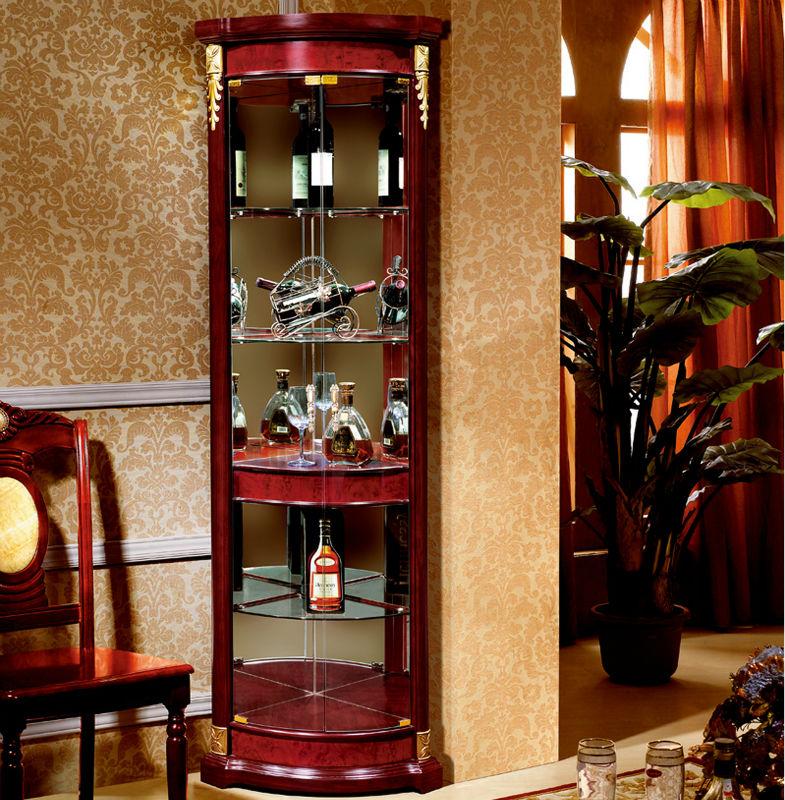 whisky en verre en bois meuble d 39 angle salle manger. Black Bedroom Furniture Sets. Home Design Ideas