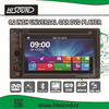 Best price 2din universal dvd 6.2'' HD touch screen car radio with sim card