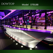 New Design Boat Shape Bar Counter for Nightclub