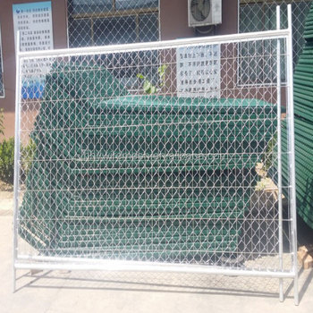 welded road barrier fence Manufacturer supply High performance anping cheap pvc temporary fence