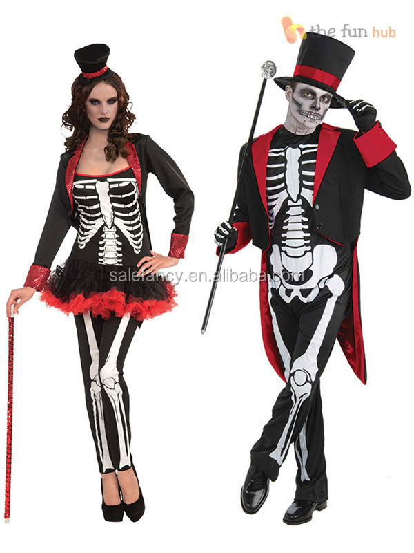 Skeleton Outfit Halloween.Adult Ladies Mens Bone Jangles Voodoo Skeleton Costume Halloween Fancy Dress Outfit Qawc 2318 Buy Costume Adult Skeleton Costume Skeleton Costume