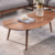 Nordic Black Walnut Solid Wood Japanese Style Modern Simplicity cheap and nice design tea table