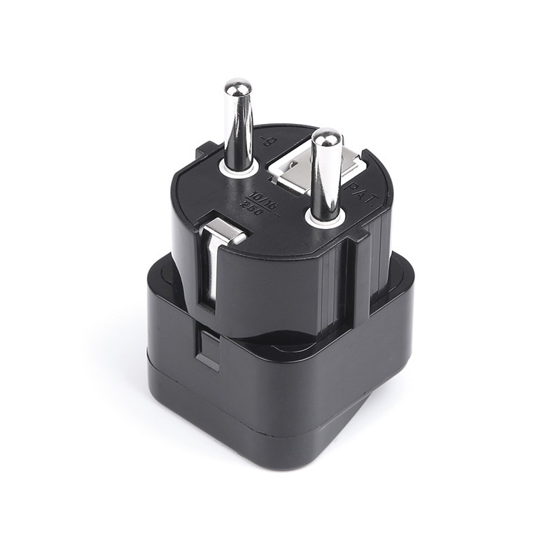 Longrich top sale UK US TO EU plug adapter with universal socket for 150 countries to use (WD-9)