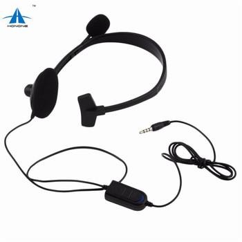For Playstation 4 Ps4 Mono Gaming Headset Headphone Earphone With Mic For  Pc - Buy Ps4 Mono Headset,Ps4 Mini Headphone,Gaming Headset Product on