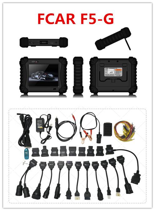 Fcar F5 G Scan Tool,12v-24v Universal Cars And Trucks Toyota Car ...