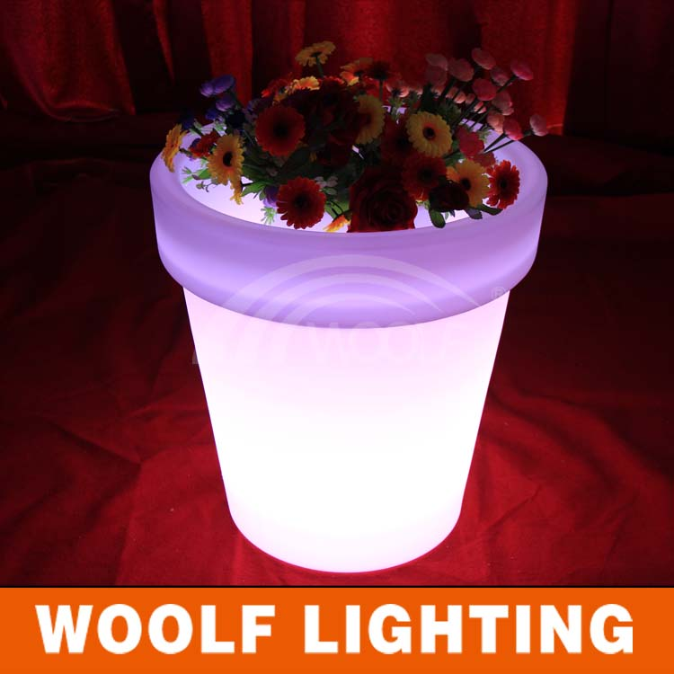 Decoratie Huis Tuin Verlicht Led Light Bloempot - Buy Led Light ...