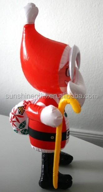 Festival inflatable christmas santa claus inflatable christmas balloons christmas model
