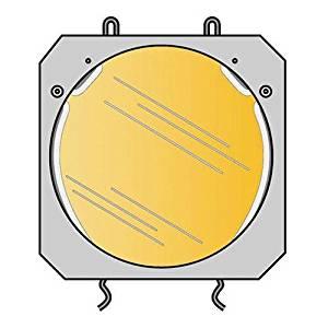Lowel Blue Dichroic Filter for the DP Light System Converts 3200 deg.k Light to Daylight.