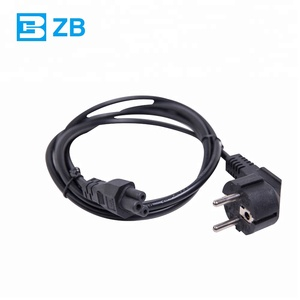Heat Resistant 220v Computer Power Cord D03 to IEC 320-C13