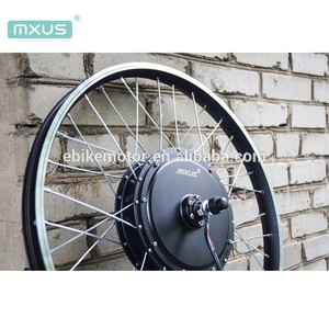 2018 hot sale MXUS 3000w 3K electric bike e-bike conversion bicycle kit