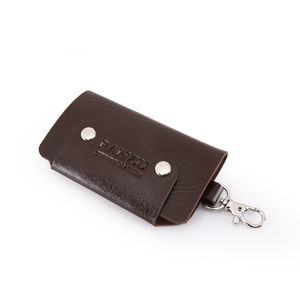 Keys Holder Organizer Manager Leather Buckle Key Wallet Case Car Keychain For Gifts