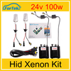 Wholesale auto hid lamp 24v 9005 hid kit h4 100w hid xenon for high power car