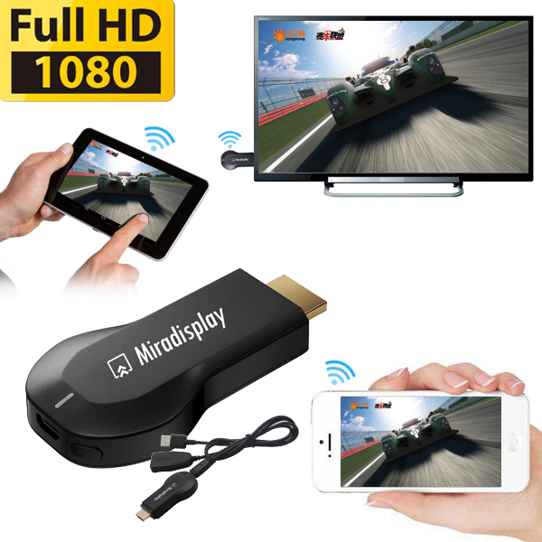 Wireless TV Stick wifi dongle Support DLNA Airplay Miracast