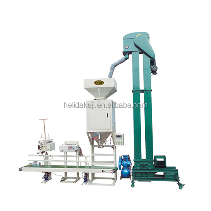 HLD 25kg semi automatic packing machine for grain granule beans or peanut