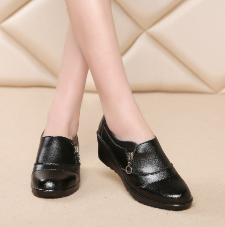 cb74fa1e7 تصميم جديد لينة وحيد مريحة عارضة الأحذية الأم-أحذية عادية نسائية ...