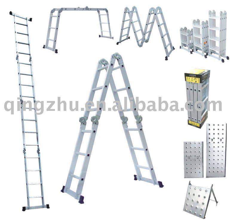 Multi purpose ladder 2.5m ,3.7m ,4.7m,5.8m.