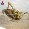 recycling mobile crusher for concrete waste