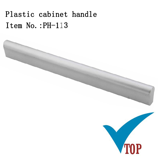 Cabinet furniture plastic d pull handle