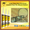 Large Plate Glass Structural Industry Clear Rtv Silicone Sealant