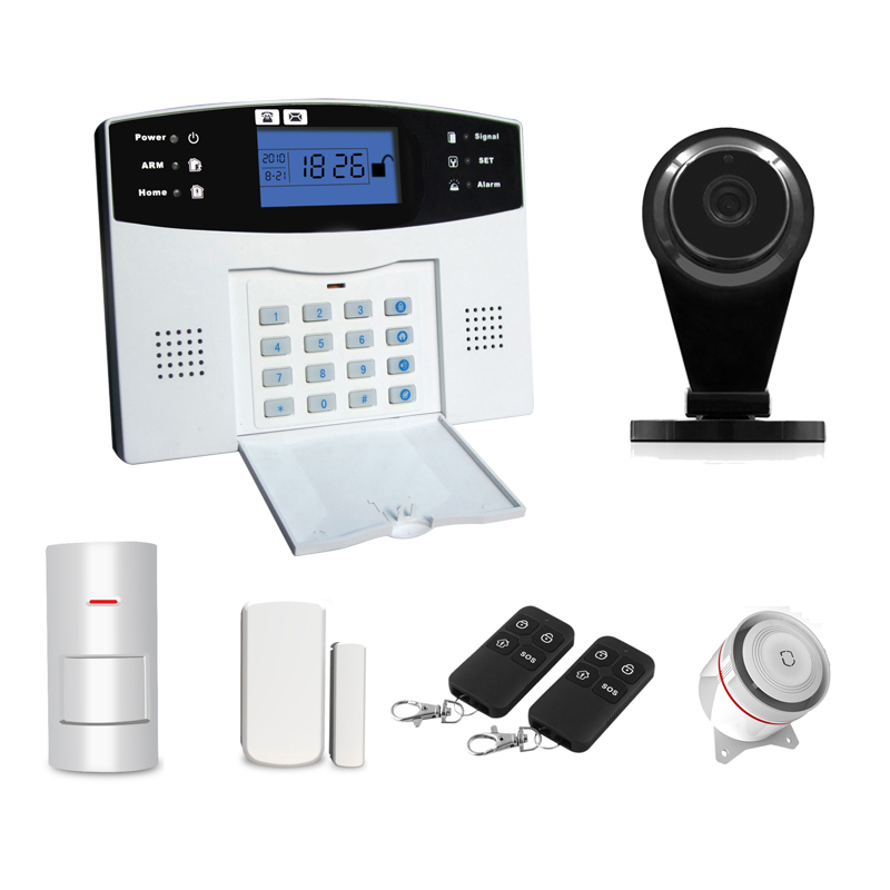 Smart Home GSM Alarmsysteem voor Home Security