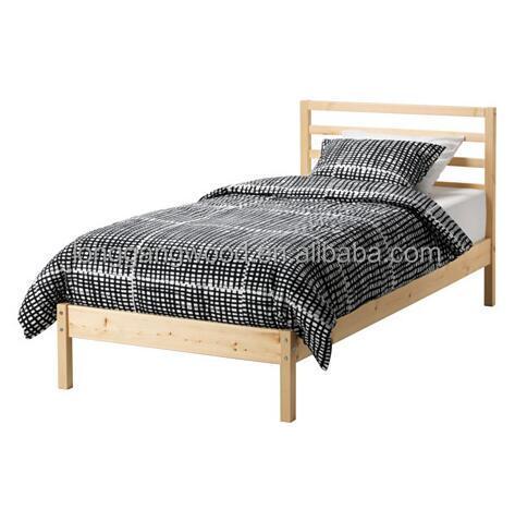 Moderne unieke platte pack wit houten hout fineer bed ontwerpen voor koop houten volwassen - Modern bed volwassen ...
