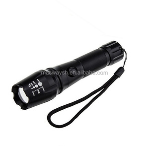Water Resistant XM-L2 LED Tactical Torch Flashlight 5 Modes Zoom Lens with Adjustable Focus