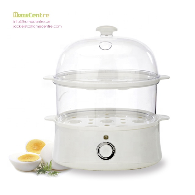 2 in 1 Double layer egg boiler and mini food steamer GS and ETL approval