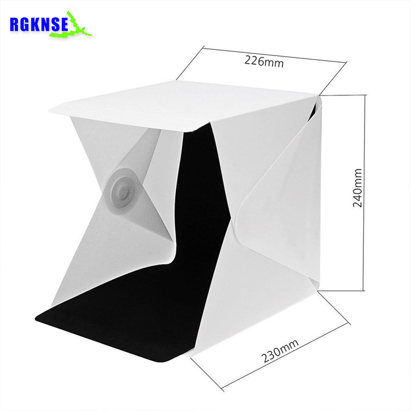 Portable Shooting Folding Light Box Photography Kit Mini Photo Studio