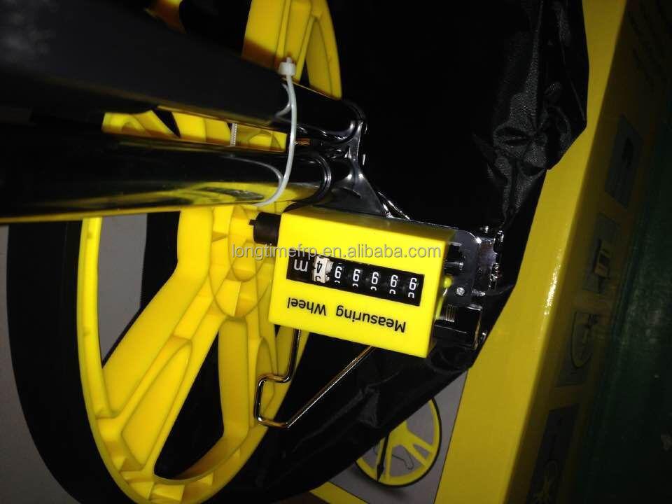 Cable Length Measuring Equipment : Folding walking meter digital measuring wheel