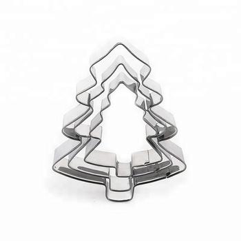 high quality metal christmas tree cookie cutters bulk - Metal Christmas Cookie Cutters