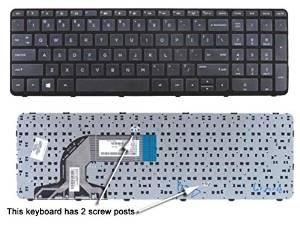 US Keyboard with Frame For HP 15-f111dx 15-f113ca 15-f118ca 15-f128ca 15-f133ca