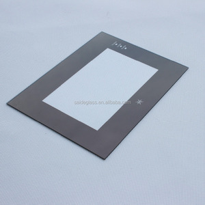 0.5-5MM silk printing glass cover lens for touch monitors LCD Screen Guard / Protector