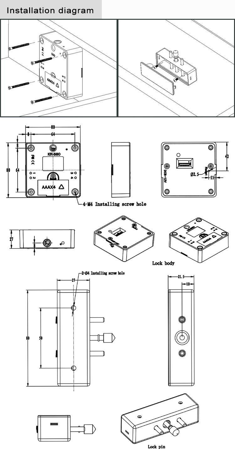 Cabinet Lock Diagram - Diagrams Catalogue on