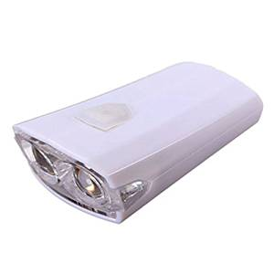 Bicycle Headlight - TOOGOO(R) USB Rechargeable Bike Bicycle Cycle LED Front Head Headlight Light 3 Modes white