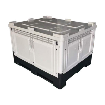 Folding Plastic Crate Pallet Collapsing