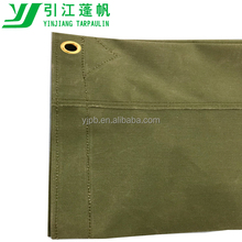 Waterproof heavy duty polyester canvas fabric