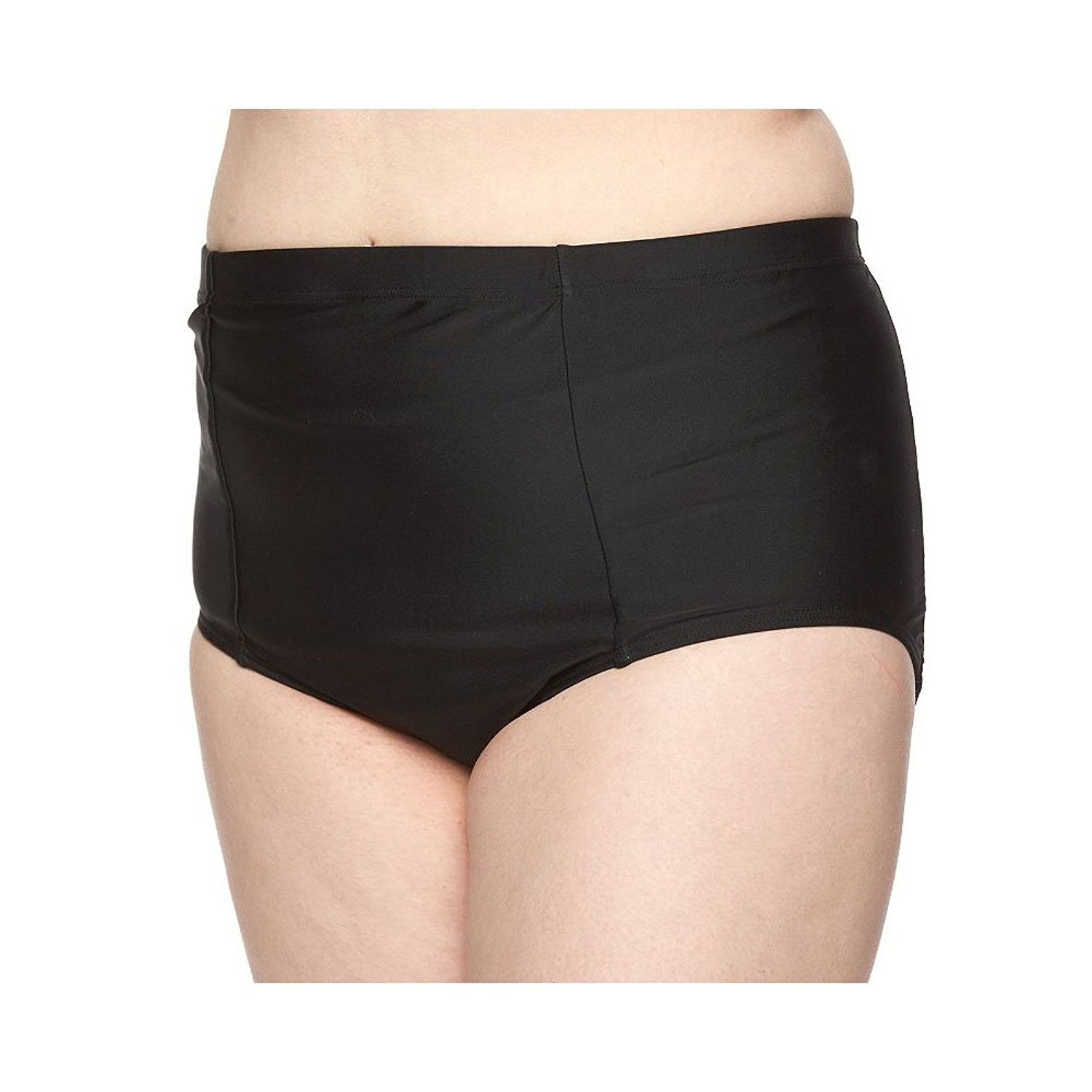 aec3fba082ce Get Quotations · Plus Size Croft & Barrow High-Waisted Bikini Bottoms,  Women's, ...