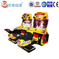 Amusement park indoor Bike Racing Video Maximum Tune Arcade Simulator Motorcycle Arcade Game Machine