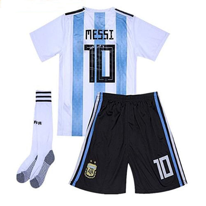 cb9bd34e4 Buy 2014 world cup argentina away blue kids soccer football jersey ...